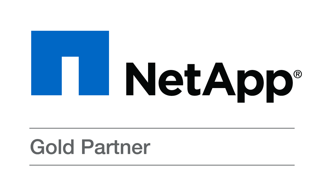 NetApp Gold Partner Logo